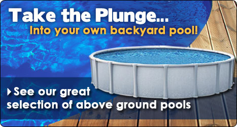 See our selection of above ground pools